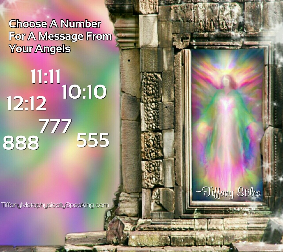 Pick A Number For A Message From Your Angels ~ – The