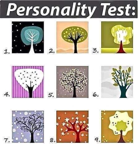 Tree Personality Message