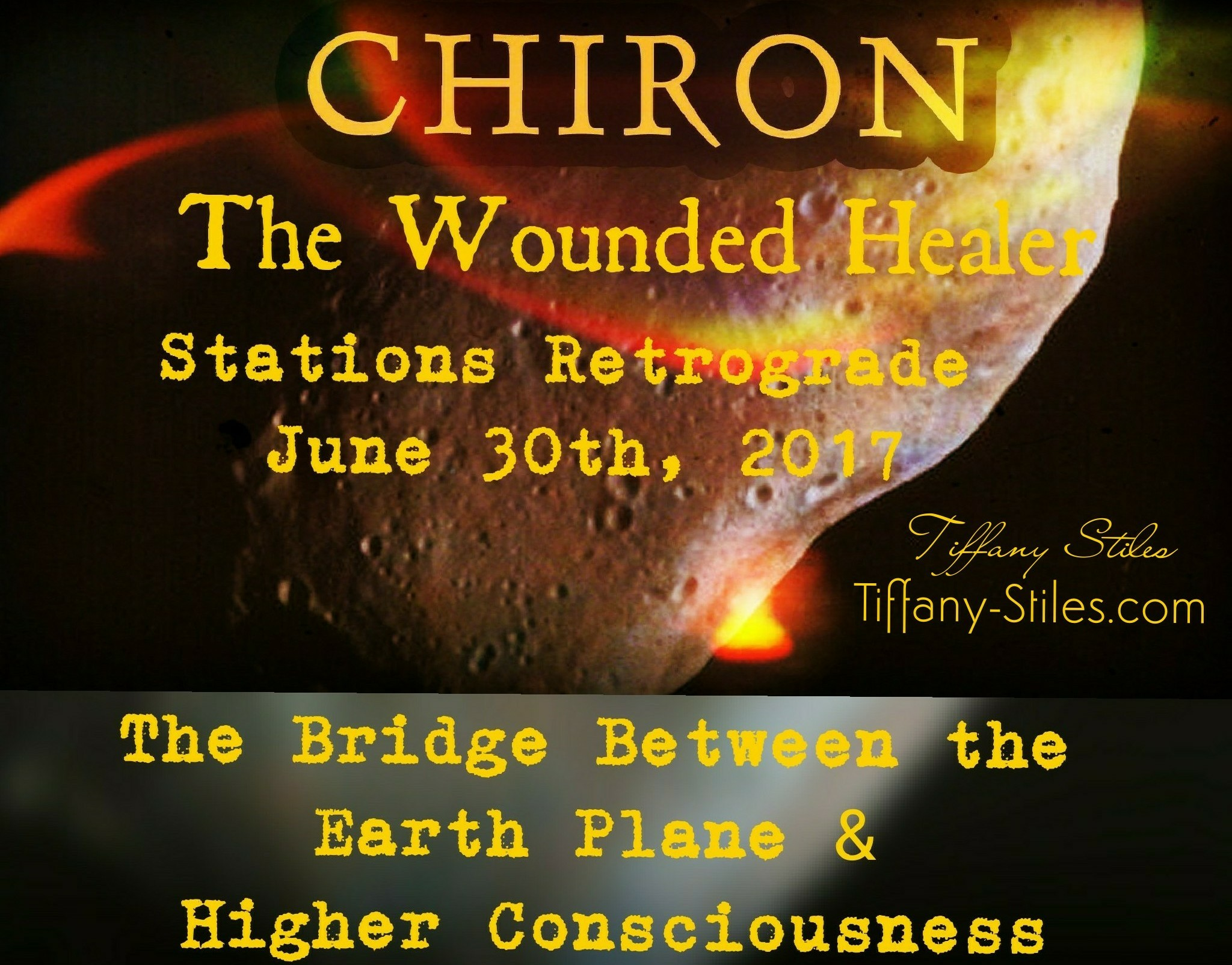 Chiron ~ The Wounded Healer – Retrograde June 30th, 2017
